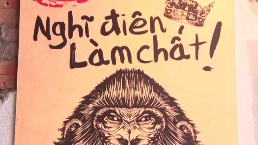 MONKEY IN BLACK- Con khỉ đen độc đáo của làng Cà phêViệt